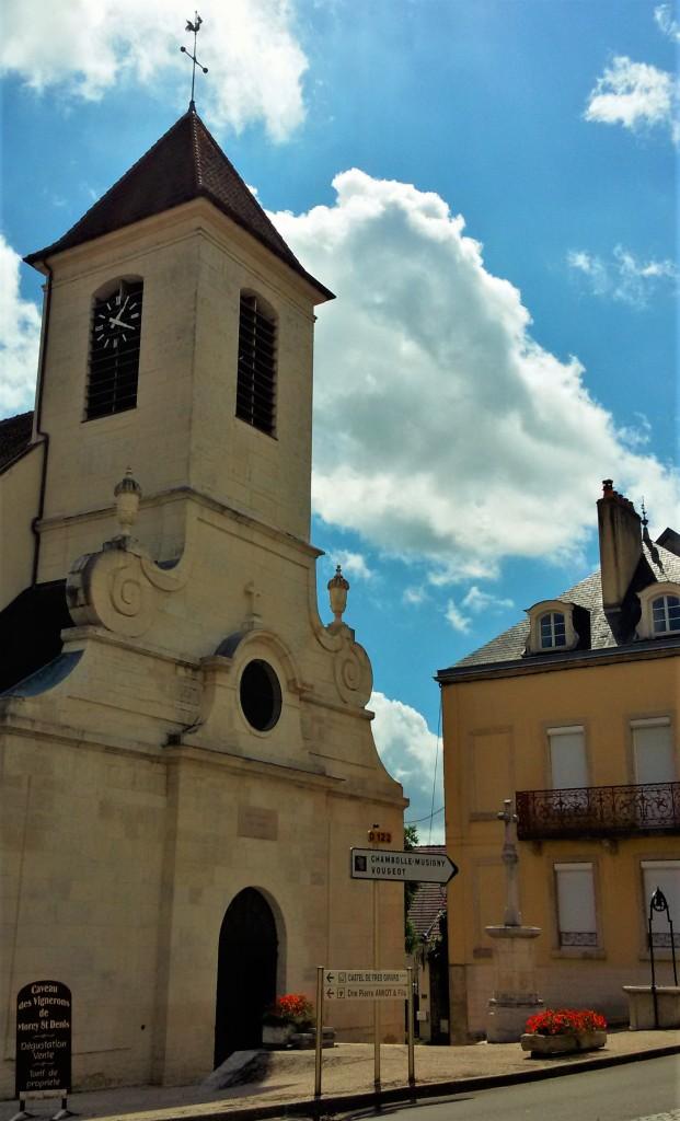 Igreja em Morey-Saint Denis