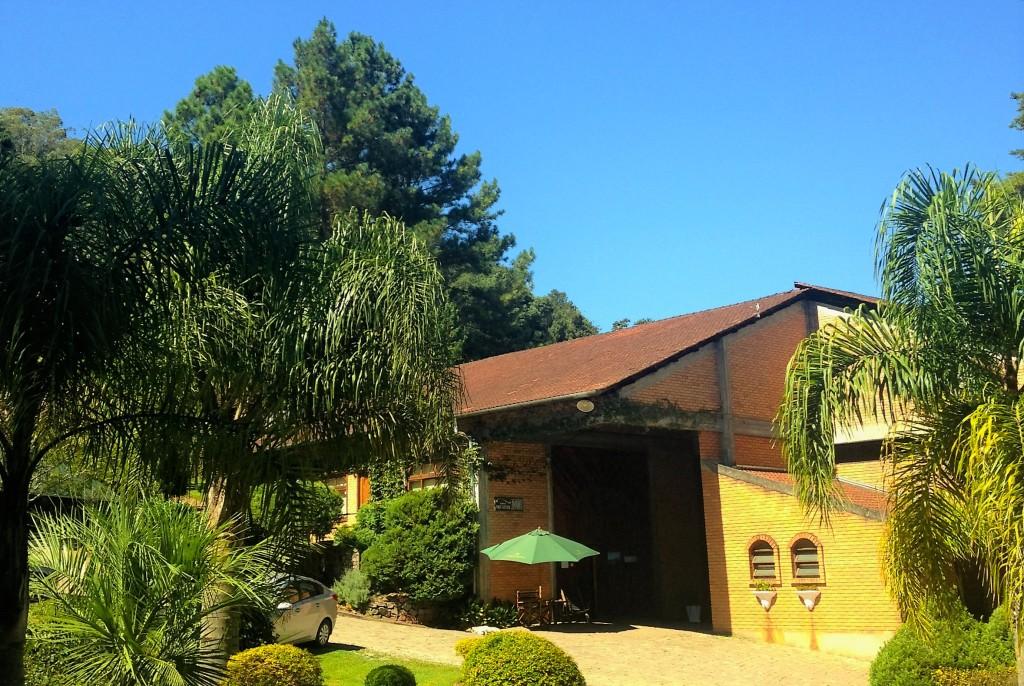 Casa-sede da vinícola