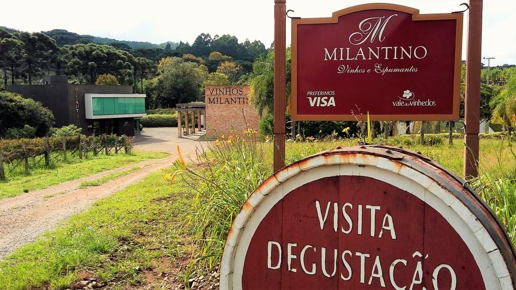 Sede da Milantino, a vinícola-boutique que prima pela qualidade e cuja produção anual é de apenas 70 mil garrafas