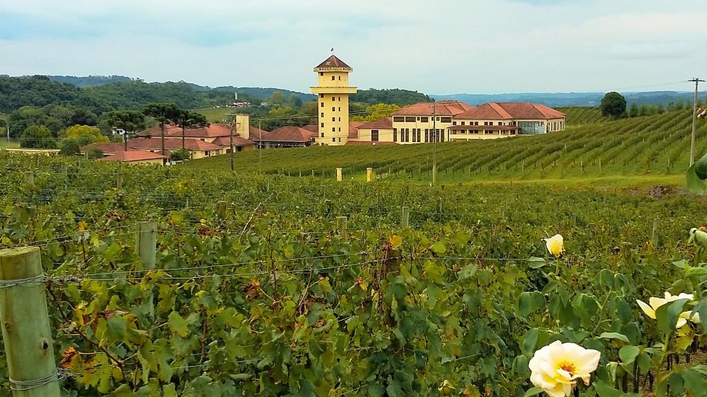 Sede da vinícola é parte da paisagem do Vale dos Vinhedos e recebeu 200 mil turistas no ano passado
