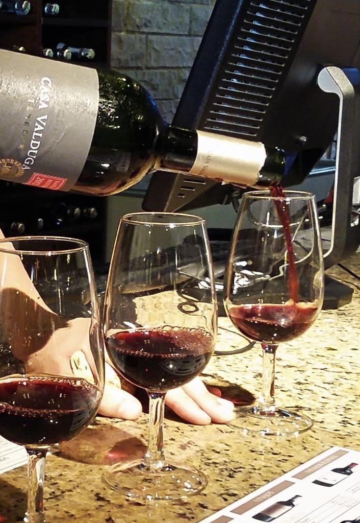 Prova de vinho na Casa Valduga
