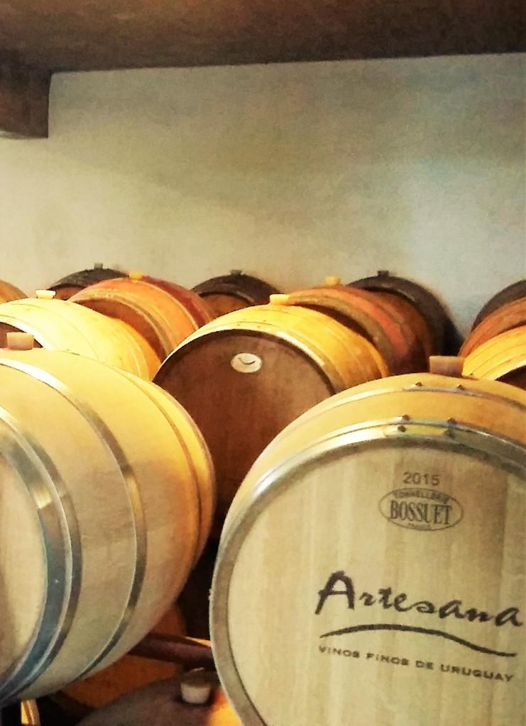 Barricas de carvalho francês e americano para o amadurecimento dos vinhos