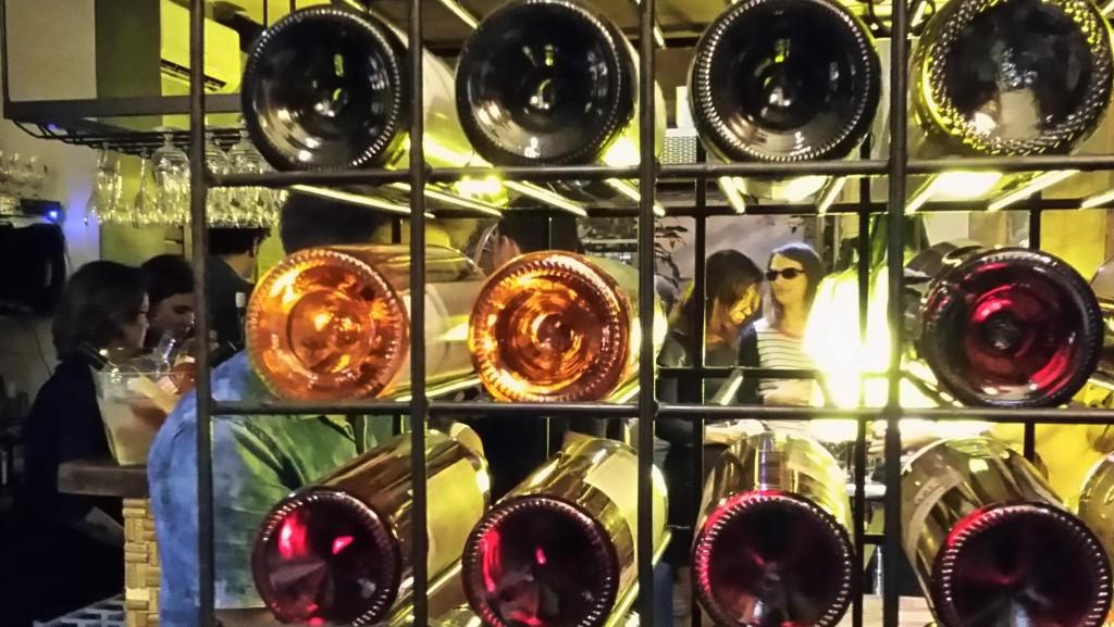 WineHouse, bar de vinhos em Botafogo, Zona Sul do Rio, onde ocorreu degustação e lançamento do Carderno do Vinho