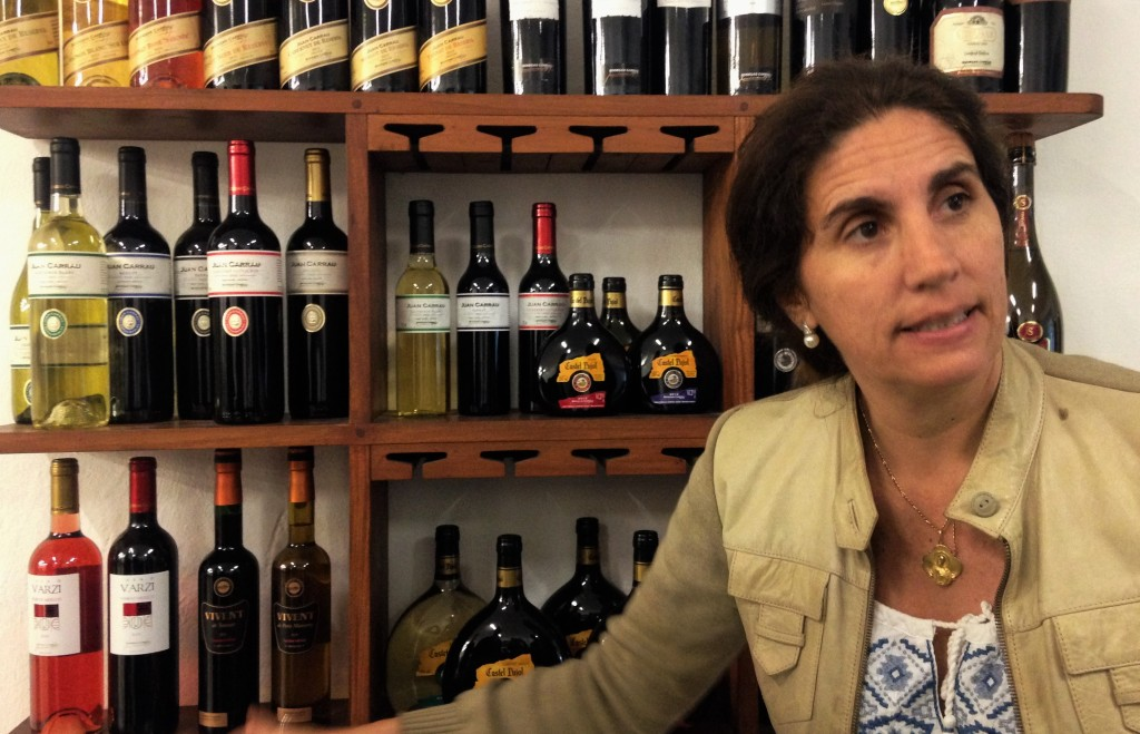 A anfitriã Margarita: décima geração da família no comando da vinícola