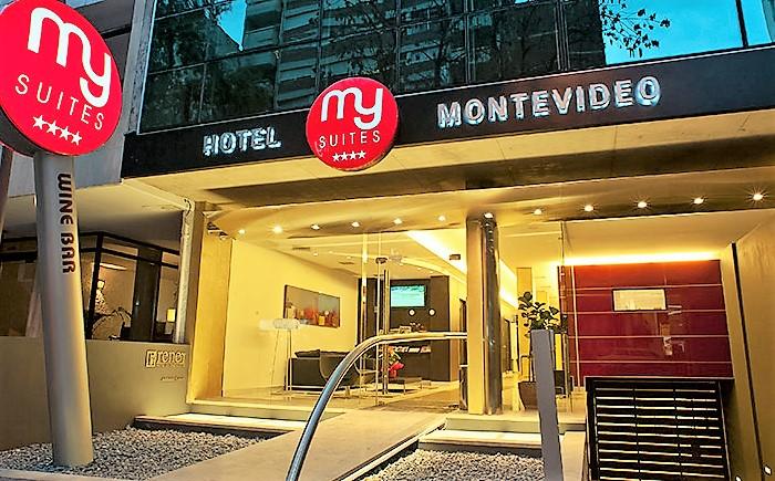Único hotel temático de vinho na capital uruguaia oferece degustações diárias
