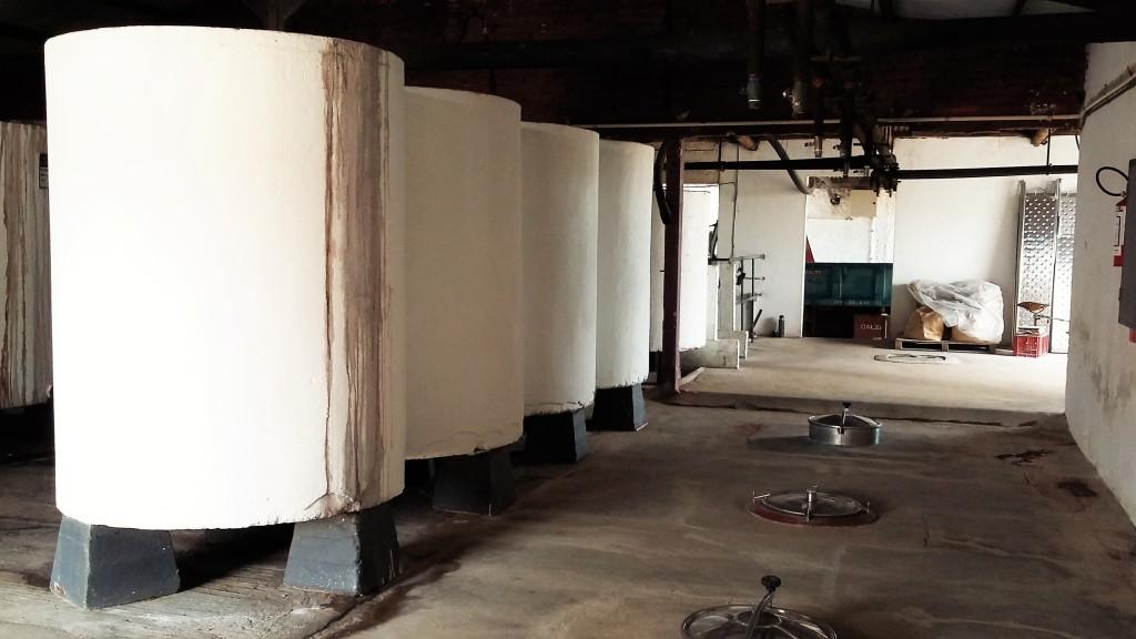 Os antigos tanques de concreto, as 'piletas' para armazenamento e amadurecimento do vinho: um pedaço da história da vinicultura uruguaia