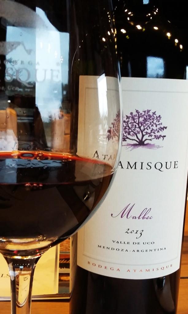 Atamisque visita - vinho Atamisque Malbec