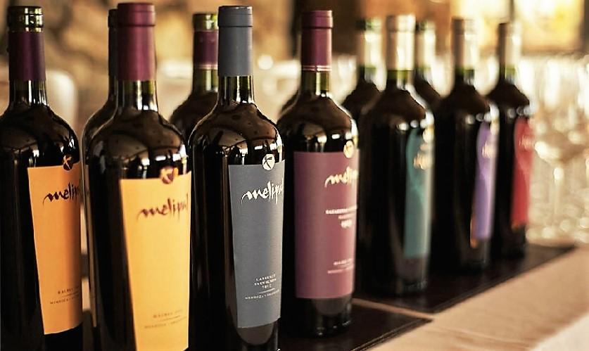 Vinhos da bodega, que tem uma linha de 11 produtos