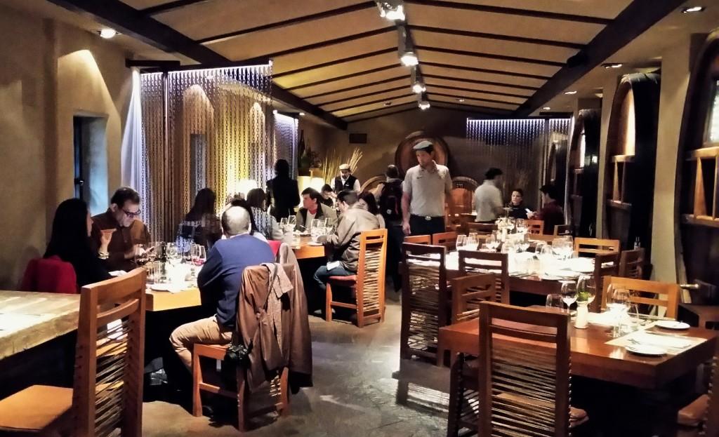 Norton almoço - restaurante La Vid - geral
