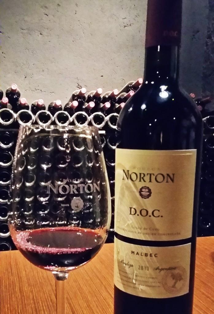 Norton visita - vinho 2 Norton Doc