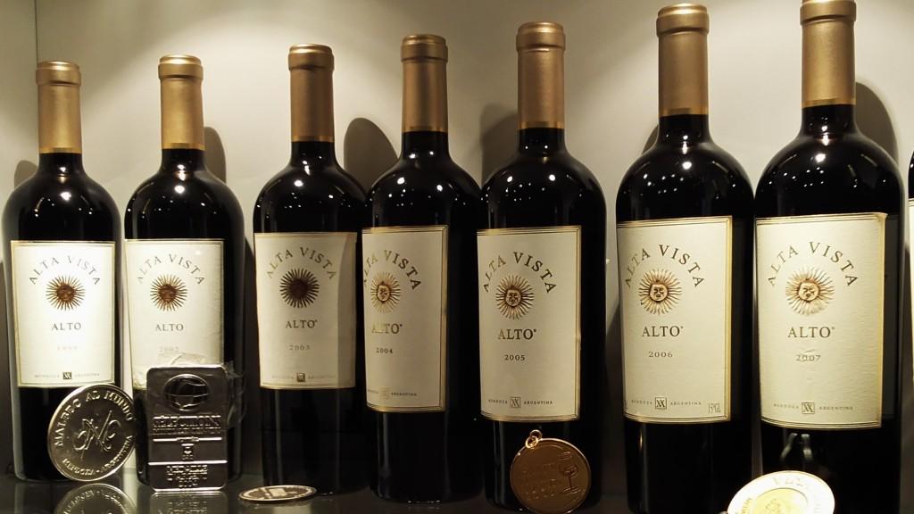 O premiado 'Alto', ícone da vinícola