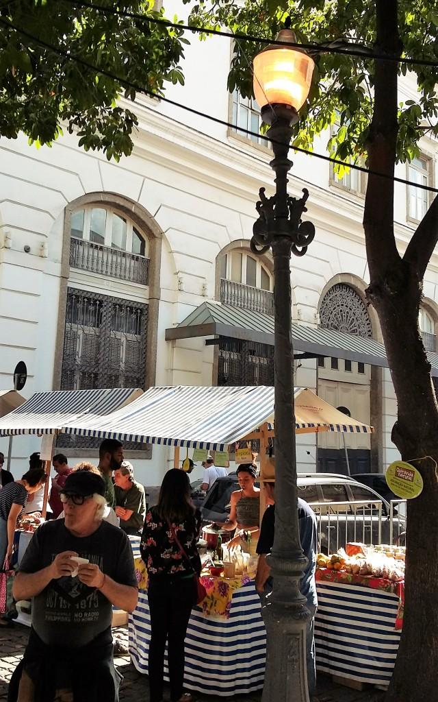 Centro histórico emoldurou feiras de gastronomia no Rio