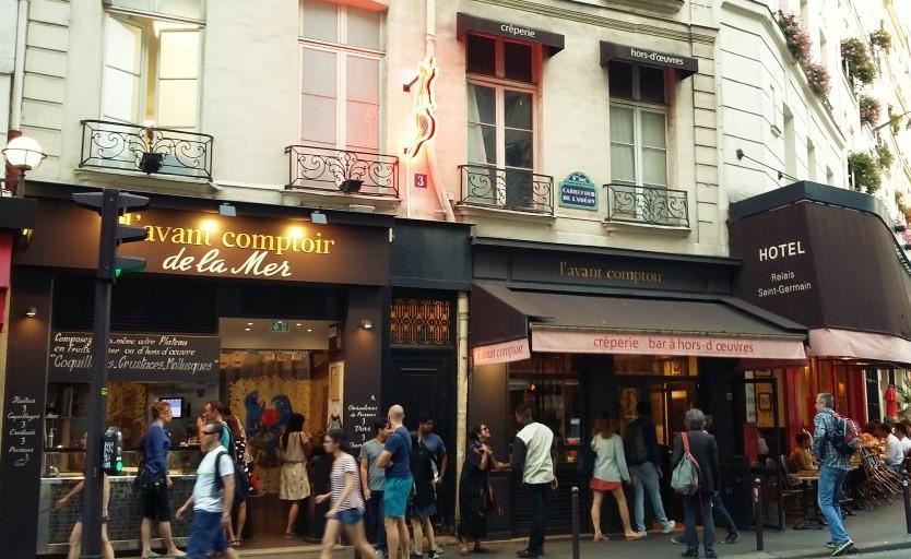 Os três empreendimentos do grande chef Yves de Camdeborde em Saint Germain des Prés