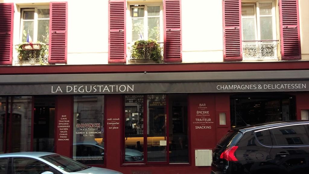 La Degustation - fachada 1