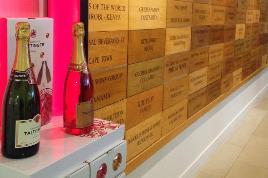 'Brut Reserve' e 'Prestige Rosé': exemplares exportados para dezenas de países