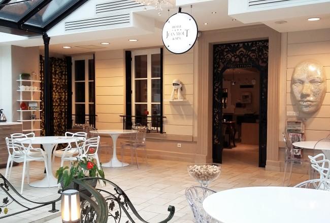Hotel Jean Moët fica muito bem localizado, bem no Centro de Epernay