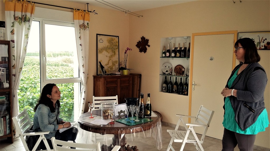 Madame Chardonnet dá uma aula de champanhe e simplicidade para o Botequim do Vinho