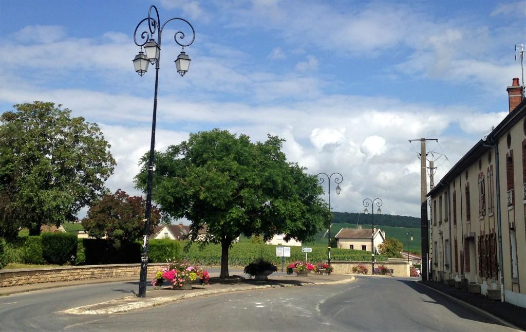 Rua de Avize, umas das 17 cidades da região de Champagne-Ardenne cujos vinhedos são classificados como 'grand crus'