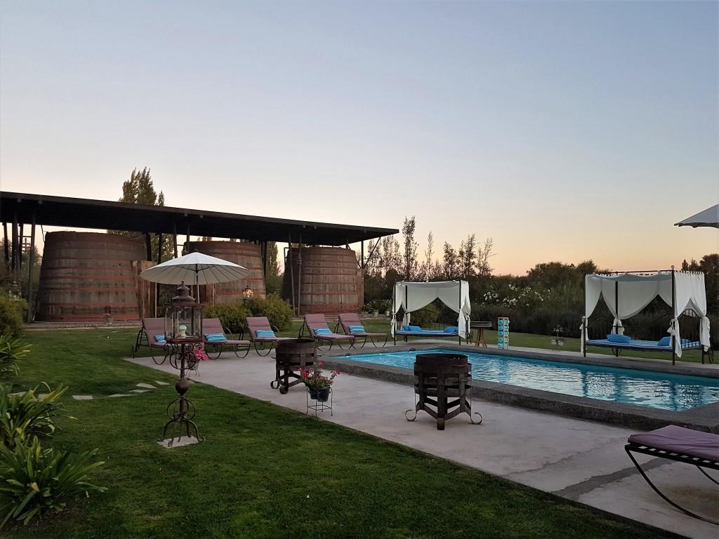 Chile Abre - hotel Cava Colchagua