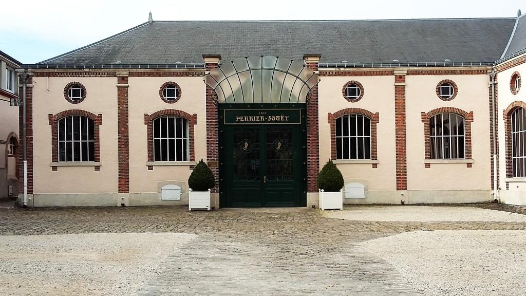 'Maison' do champanhe Perrier Jouët