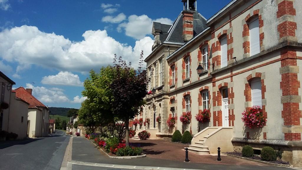 Prefeitura de Ambonnay, na região de Champagne-Ardenne