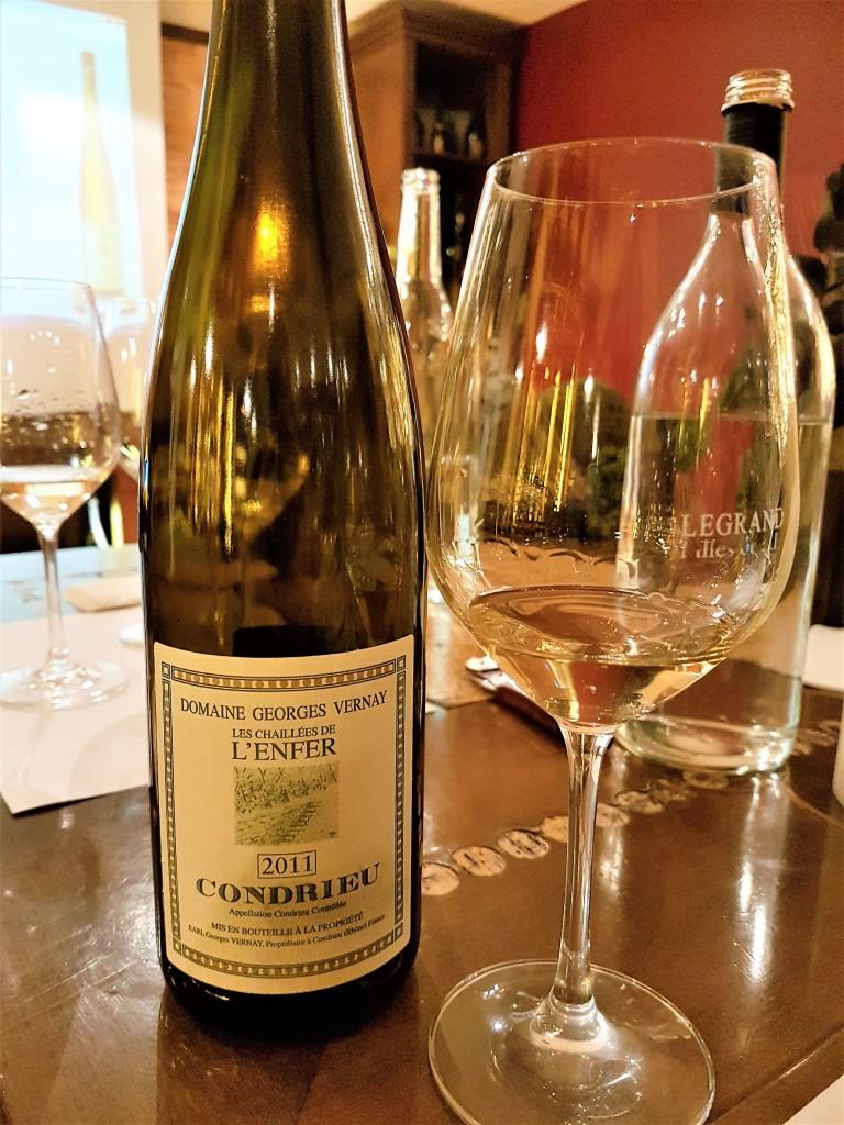 Legrand - vinho branco condrieu