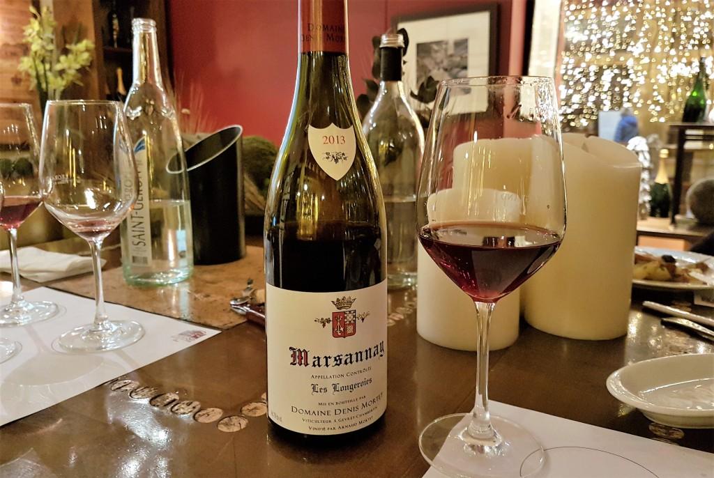 Legrand - vinho tinto marsannay